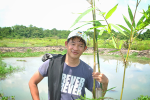 Crunch plantation in Vietnam 1